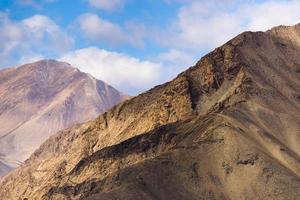 landschap rond Karakul meer foto