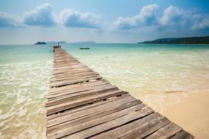 tropisch landschap van Koh Rong