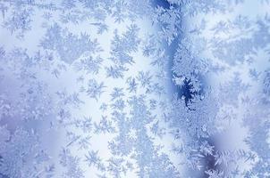 winter iced achtergrond foto