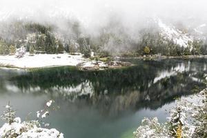 winter reflectie foto