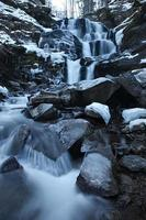 winter waterval foto
