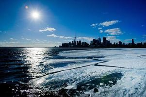 de winter in toronto,