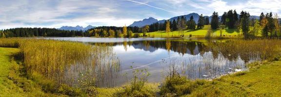 panorama landschap in Beieren