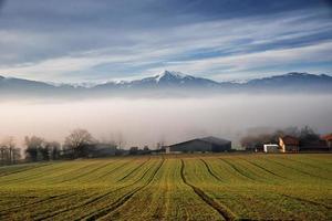 landschap van de pyreneeën (frankrijk) foto
