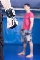 vechtsport training foto