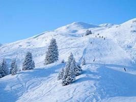 winter in de Alpen foto
