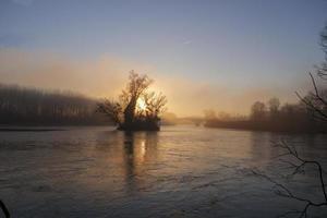 de bugey in de winter foto