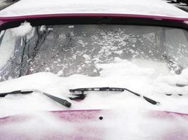 winter auto foto