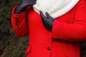 dames winterkleding foto