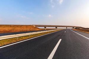 asfaltweg foto