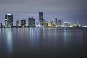 skyline van de stad Miami foto
