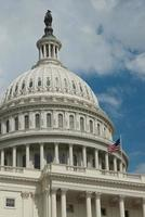 nationale hoofdstad in Washington DC foto