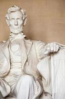 abraham lincoln monument in washington, dc foto