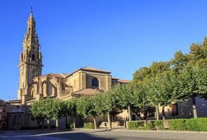 Santo Domingo de la Calzada in Rioja, Spanje foto