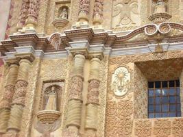 Santo Domingo-kerk in San Cristobal de las Casas foto