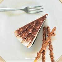 banaan chocoladetaart foto