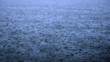 regen meer foto