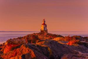 Lake Superior vuurtoren foto