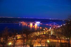 nacht in de stad foto