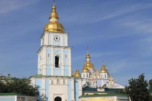 Sint-Michielskathedraal in Kiev foto