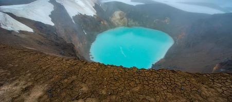 Askja-meer, IJsland foto
