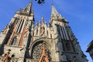 Sint-Nicolaaskathedraal in Kiev foto