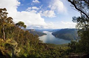 uitzicht op het meer Sydney foto