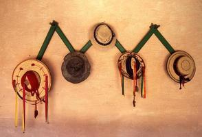 Latijns-Amerika Guatemala antigua hoed foto