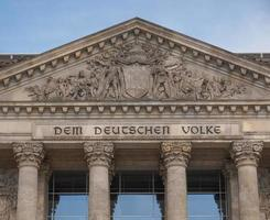 Rijksdag Berlijn foto