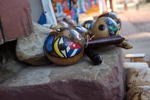 Cubaanse maracas foto