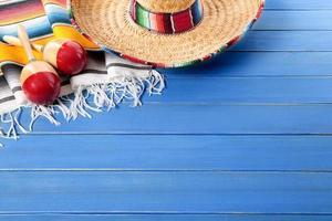 Mexicaanse achtergrond met copyspace foto