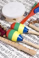 instrumenten voor kinderen foto