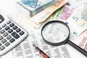 studie van financiële kansen foto