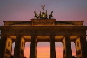 Brandeburger Tor, Berlijn foto