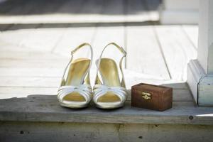 bruids schoenen foto