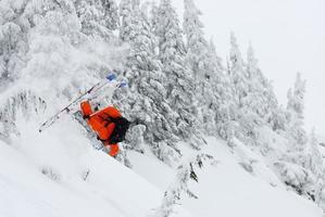 extreem skiën foto