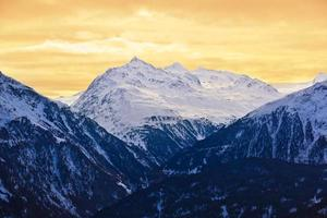 bergen - skigebied Solden Oostenrijk foto