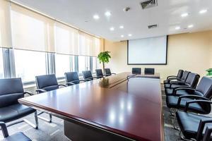 zakelijke vergaderruimte in kantoor foto