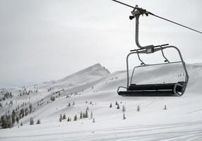 skiën in wagrain foto
