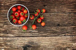 baby tomaat foto