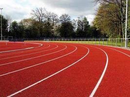 atletiekbaan achtergrond foto