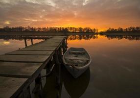 vissershaven foto