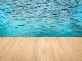 zwembadzijde foto