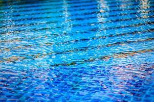zwembad water achtergrond foto