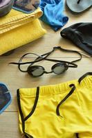 accessoires voor zwembad foto
