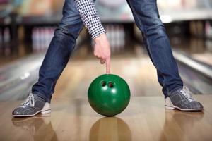 bowling spel foto