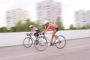 fiets competitie foto