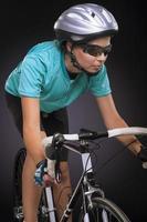 fiets atleet fietsen foto