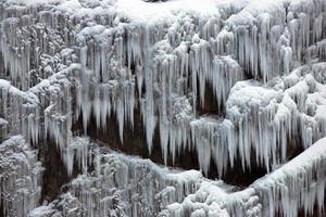 Zwitserse ijskegels bevriezen foto