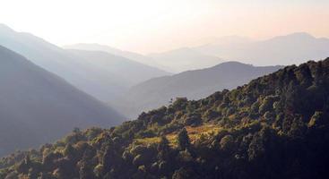 annapurna-massief. Nepal.